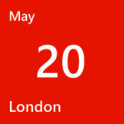 London - May 20