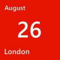 London August 26