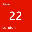 London June 22