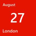 London August 27