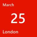 London March 25