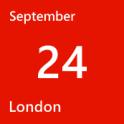 London September 24