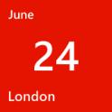 London June 24