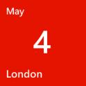 London May 4