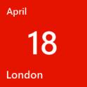 London April 18