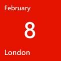 London Feb 8