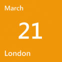 London March 21