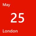 London May 25